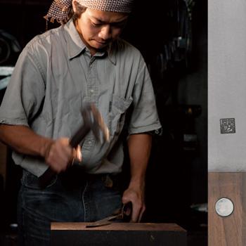 ナイフ、カッティングボード AJIGATAYA