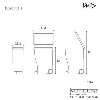 Kcud<クード>#30 ゴミ箱 I'mD(アイムディー)