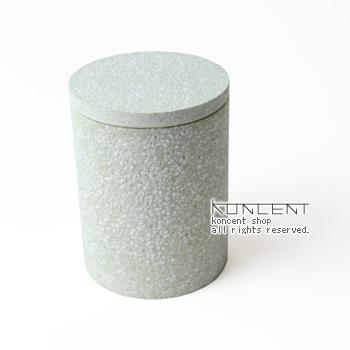 COTTON SWAB CONTAINER (コットンスワブコンテナ)綿棒入れ soil 珪藻土