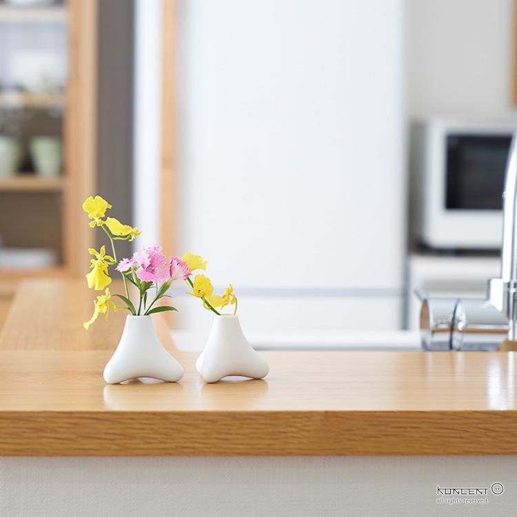 +d TETRA Flower Vase | プラスディーテトラ フラワーベース