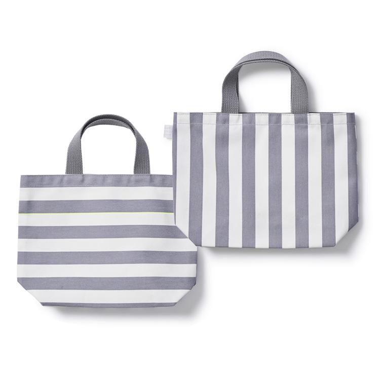 Bicolor Lunch Bag | 自由学園生活工芸研究所 ランチバッグ