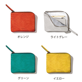 hmny コンパクト財布 W-013 Compact Wallet