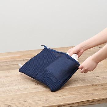 そのまま洗える 衣類仕分けポーチ ︎平型