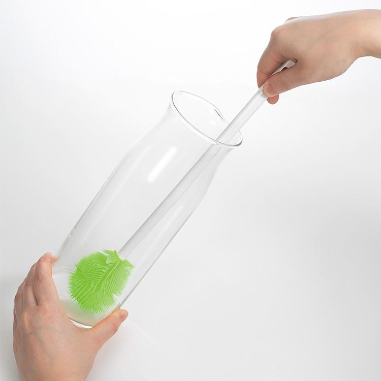 tidy Platawa for bottle プラタワ・フォーボトル ブラシ ボトル ボトル用 ウォーターピッチャー 長い 毛