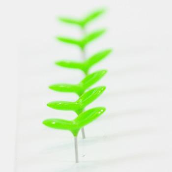Green Pin 本物の新芽のような、小さな双葉のプッシュピン。 ぐりーんぴん 画鋲 ぴん みどり しんめ