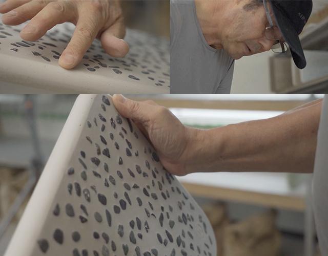 soil BATH MAT kaji かき落とし かじ ばすまっと 日本製 ハンドメイド
