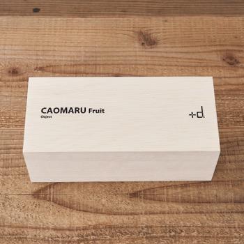 かおまる ふるーつ フルーツ  ギフト 贈り物 木箱 詰め合わせ  アッシュコンセプト カオマルくん ストレス解消 望月商店 フルーツサンド