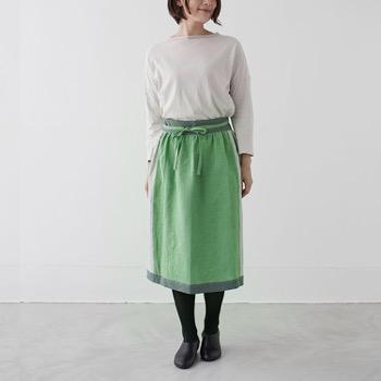SUNNY LOCATION apron skirt