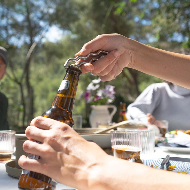 わーぷ せんぬき ビール ふた あける しんちゅう ゴールド ララビギン ららびぎん 3way