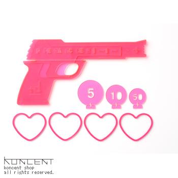LOVE&PEACEGUN +d アッシュコンセプト