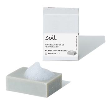 バブリングケイソウド soil 珪藻土